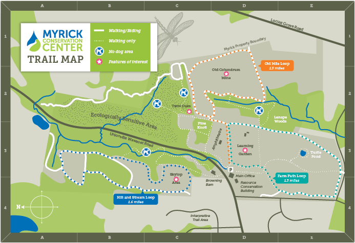 MCC Trail Map